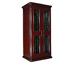 Le Cache European Country Euro 2400 286-Bottle Wine Cellar - Classic Cherry Finish