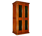 Le Cache European Country Euro 2400 286-Bottle Wine Cellar - Provincial Cherry Finish