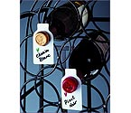 Wine Bottle ID Tags - Set of 50 w/Marking Pen