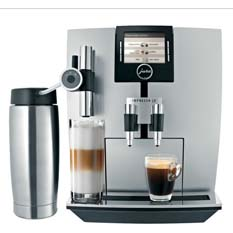 Automatic One Touch Coffee Center - TFT - Brilliant Silver