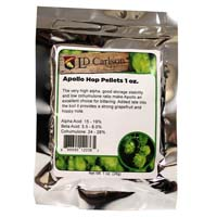 Apollo US Hop Pellets - 1oz Bag