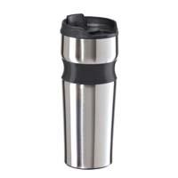 Lustre Contour Stainless Steel Travel Mug