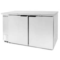 Back Bar Refrigerator - Stainless Steel