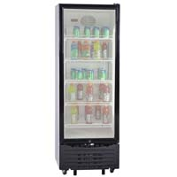 11.3 Cu. Ft. Beverage Center - White and Black Framed Glass Door