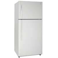 18.0 Cu. Ft. Frost Free Two Door Apartment Refrigerator - White Cabinet and White Doors