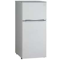 4.3 Cu. Ft. Two Door Frost Free Refrigerator - White Cabinet and White Door