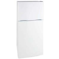 9.9 Cu. Ft. Frost Free Two Door Apartment Refrigerator - White Cabinet and White Doors