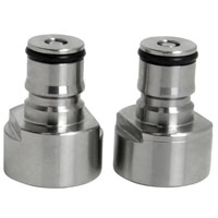 Keg Coupler Adapter Kit - Gas and Liquid Posts
