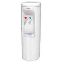 Hot 'N Cold Water Cooler - White w/SS Reservoir