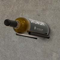 Vino Rails for Masonry Surfaces - Anodized Black