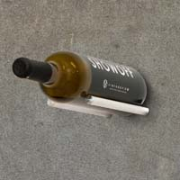 Vino Rails for Masonry Surfaces - Milled Aluminum