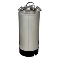 Inventory Reduction - 18 Litre Keg Beer Cleaning Can (Pre-configured with D, G, and M System valves)