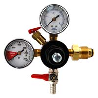 Double Gauge Nitrogen Beer Regulator