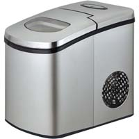 Portable Countertop Ice Maker - Stainless Steel
