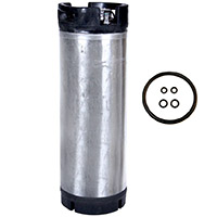 2 Photo of 5 Gallon Ball Lock Keg - Reconditioned Beer Keg