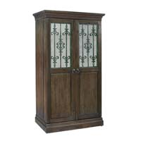 Monaciano Hide-a-Bar Wine & Spirits Cabinet