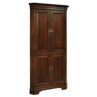 Norcross Hide-a-Bar Wine & Spirits Cabinet