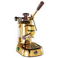 Professional Espresso Maker - Brass