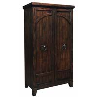 Rogue Valley Hide-a-Bar Wine & Spirits Cabinet