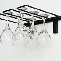 Stemware Rack - Black Chrome Finish