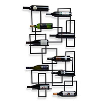 Mid-Century Wall Wine Rack