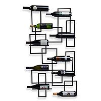 Mid-Century Wall Wine Rack