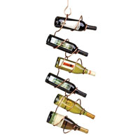 Climbing Tendril Wine Rack - Copper