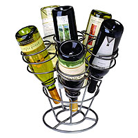Bottle Bouquet Wine Rack- Gunmetal