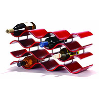 Bali Countertop Wine Rack - Crimson