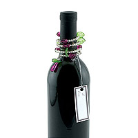 Grape Swirl Wine Bottle Jewelry