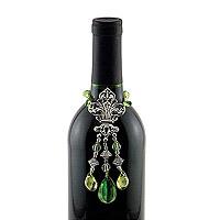 Fluer De Lis Wine Bottle Jewelry