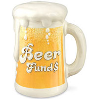 Beer Funds Money Bank
