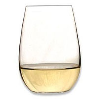 O Sauvignon Blanc / Riesling Stemless Wine Glasses (Set of 2)