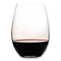 O Syrah / Shiraz Stemless Wine Glasses (Set of 2)