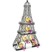 Eiffel Tower 6 Bottle Wine Rack