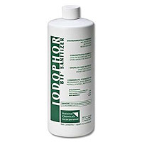 BTF Iodophor Sanitizer Cleaner for Home Brew Kegs - 32 oz Bottle