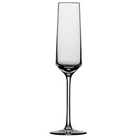 Pure Champagne Flute Wine Glass Stemware - Set of 6