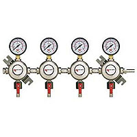 Premium 4 Product Secondary Co2 Kegerator Regulator