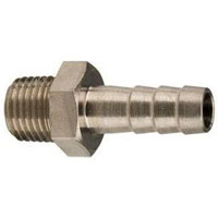 Threaded Regulator Nipple - 3/8