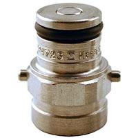 John Wood Pin Lock 2-Pin Tank Plug 9/16-18 Gas