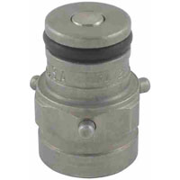 John Wood Pin Lock 3-Pin Tank Plug 9/16-18 Liquid