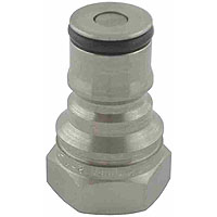 John Wood Ball Lock Tank Plug 3/4-18 Liquid