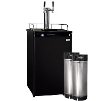 Kegco HBK199B-2 Keg Fridge