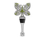 Garden Jeweled Butterfly Wine Bottle Stopper