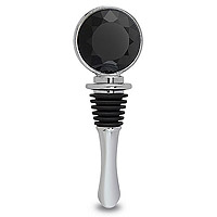 Black Jewel Bottle Stopper