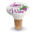 Love Ceramic Wine Bottle Stopper