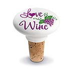 Love Ceramic Wine Bottle Stopper