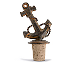Cast Iron Anchor Bottle Stopper