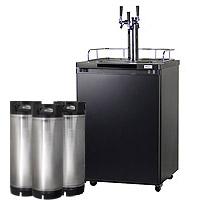 HBK209B-3K Keg Refrigerator