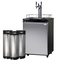 HBK209S-3 Triple Tap Draft Beer Dispenser